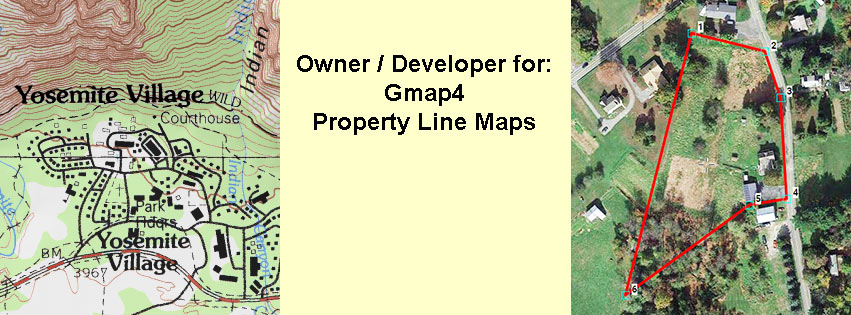 Property Line Maps | Google aerials and topo | GPS data